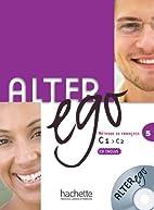 Alter Ego 5 Podrecznik z plyta CD by Michel…