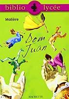 Dom Juan de Molière by D Humieres