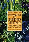 Tony Lord: L'encyclopédie des harmonies végétales (French Edition)