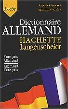 Dictionnaire Français/Allemand…