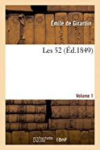 Les 52. Volume 1 (French Edition) by Sans…