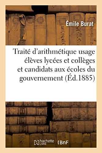 trait-darithmtique-lves-des-lyces-et-collges-et-candidats-aux-coles-du-gouvernement-8e-d-sciences-french-edition