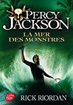 Percy Jackson - Tome 2: La mer des monstres - Rick Riordan