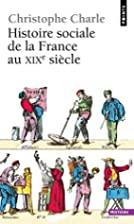 Histoire sociale de la France au XIXe…