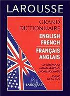 Grand dictionnaire: Anglais-français,…