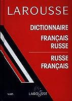 Dictionnaire français-russe by Paul…