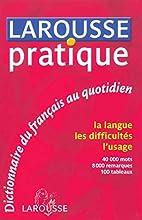 Larousse pratique : Dictionnaire du…
