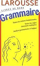 Livres de bord : Grammaire by Jean Dubois