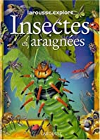 INSECTES ET ARAIGNEES by Collectif