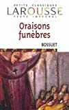 Bossuet, Jacques Benigne: Oraisons Funebres