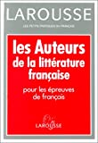 Amon, Evelyne: Les Auteurs De La Litterature Francaise (French Edition)