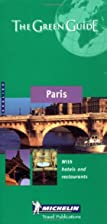 Michelin Green Guide Paris by Michelin