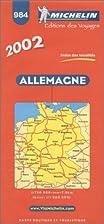 Allemagne Duitsland : 1:750.000 984 by…