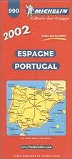Michelin Spain & Portugal Map No. 990, 23e…