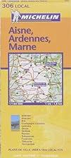 Aisne - Ardennes - Marne : 1:180.000 306…