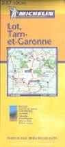 Michelin Map France: Lot, Tarn-et-Garonne…
