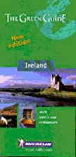 Michelin Green Guide Ireland by Michelin…