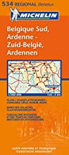 Southern Belgium: Map No. 534 by Cartes…