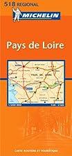 Carte routière : Pays de Loire, N° 11518…