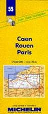 Michelin Caen/Rouen/Paris, France Map No. 55…