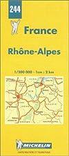 Michelin Rhone-Alpes, France Map No. 244…
