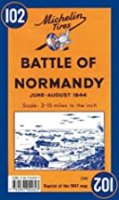 Michelin Battle of Normandy Map No.102 by…
