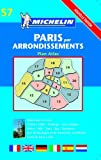 Michelin Staff: Paris Arrondissements Atlas- Michelin (Michelin Maps)