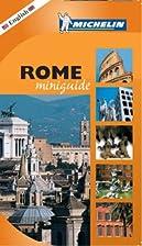 Rome Miniguide (City Miniguide) by Michelin…