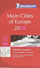 Michelin Red Guide 2008 Main Cities of…