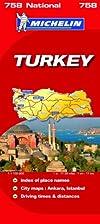 Turkey National Map (Michelin National Maps)…