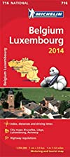 Belgium and Luxembourg 2014 National Map 716…