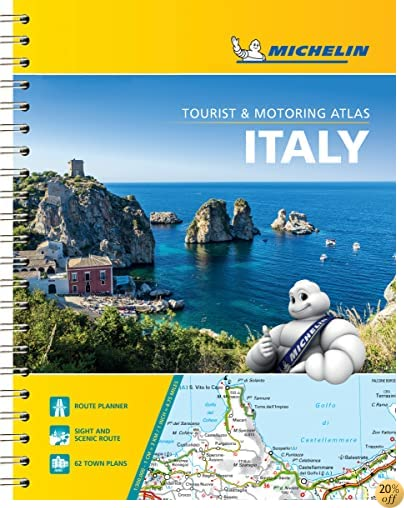 TMichelin Italy Road Atlas (Atlas (Michelin))