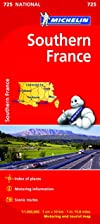Southern France National Map 725 (Michelin…
