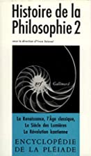 Histoire de la philosophie, tome 2 : De la…