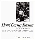 Cartier-Bresson, Henri: Photoportraits (French Edition)