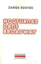 Nocturnes dans Broadway by Damon Runyon