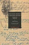 Antonin Artaud: Cahiers d'Ivry coffret