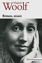 Romans, essais by Virginia Woolf