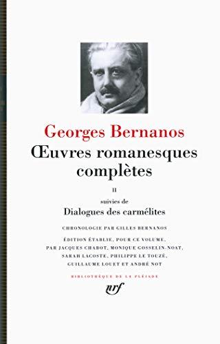 oeuvres-romanesques-completes-dialogues-des-carmelites-tome-2