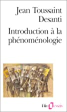 Introduction à la phénoménologie by…