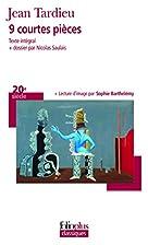 9 courtes pièces by Jean Tardieu