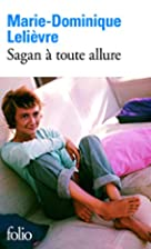 Sagan a Toute Allure (Folio) (French…