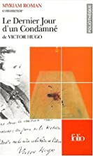 Le Dernier Jour d'un condamnéde Victor Hugo…