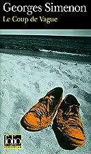 Le coup de vague by Georges Simenon