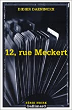 12, rue Meckert by Didier Daeninckx
