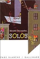 Solos by Detambel R