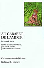 Au cabaret de l'amour: Paroles de…