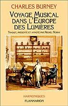 Voyage musical dans l'Europe des Lumières…