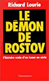 Lourie, Richard: Le démon de Rostov (French Edition)