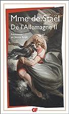 Germany by Madame de Staël